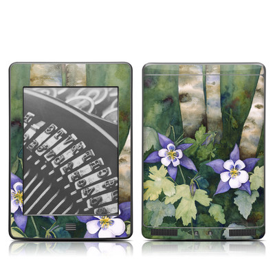 Kindle Touch Skin - Colorado Columbines