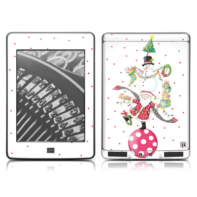 Kindle Touch Skin - Christmas Circus