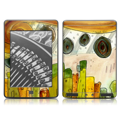 Kindle Touch Skin - City Life