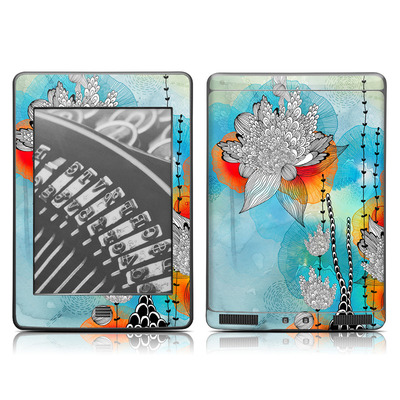 Kindle Touch Skin - Coral