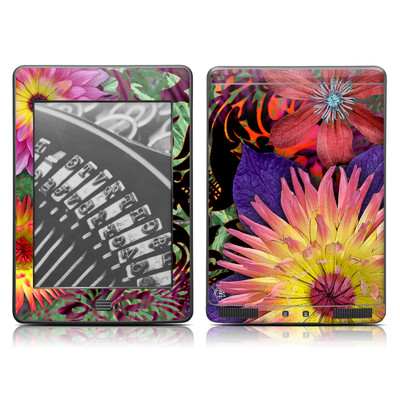 Kindle Touch Skin - Cosmic Damask