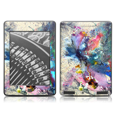Kindle Touch Skin - Cosmic Flower