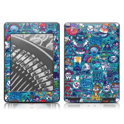 Kindle Touch Skin - Cosmic Ray