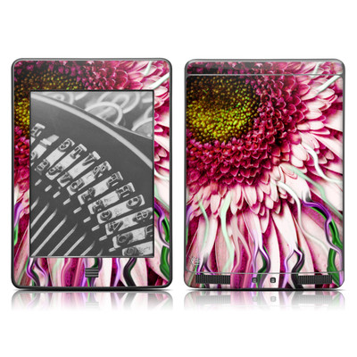 Kindle Touch Skin - Crazy Daisy
