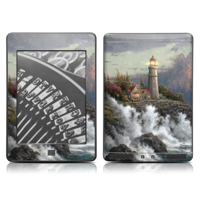 Kindle Touch Skin - Conquering Storms
