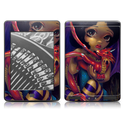 Kindle Touch Skin - Darling Dragonling