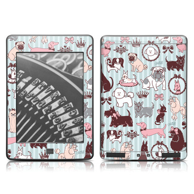 Kindle Touch Skin - Doggy Boudoir
