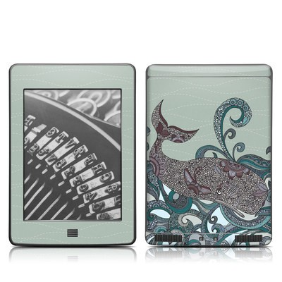 Kindle Touch Skin - Deep Blue Me