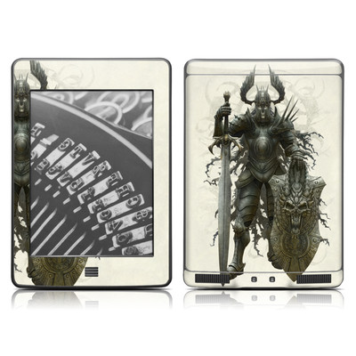 Kindle Touch Skin - Dark Knight