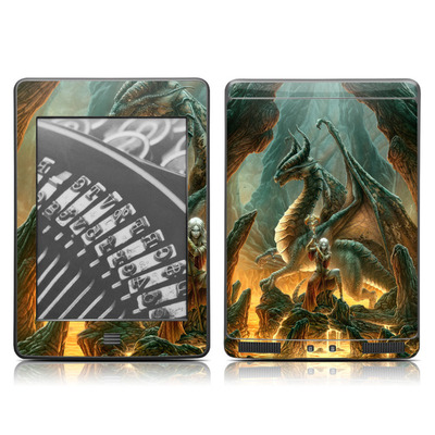 Kindle Touch Skin - Dragon Mage