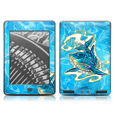 Kindle Touch Skin - Dolphin Daydream