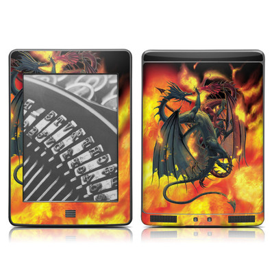 Kindle Touch Skin - Dragon Wars