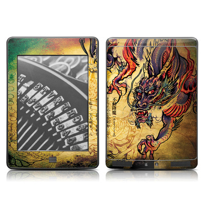 Kindle Touch Skin - Dragon Legend