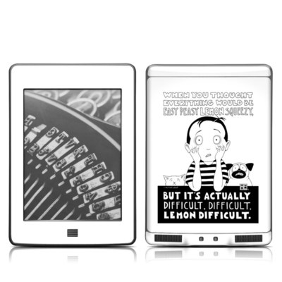 Kindle Touch Skin - Easy Peasy
