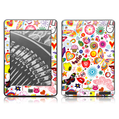 Kindle Touch Skin - Eye Candy