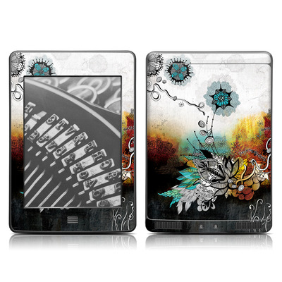 Kindle Touch Skin - Frozen Dreams