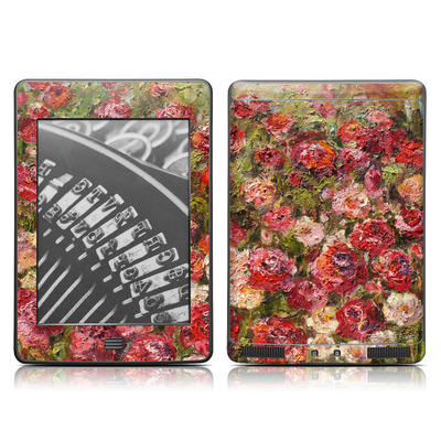 Kindle Touch Skin - Fleurs Sauvages