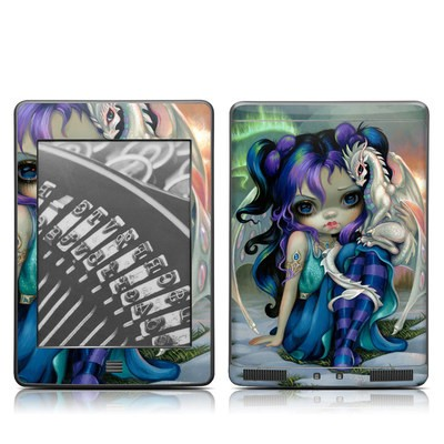 Kindle Touch Skin - Frost Dragonling