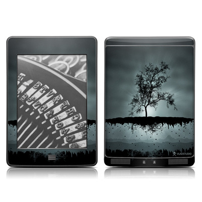 Kindle Touch Skin - Flying Tree Black
