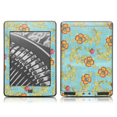 Kindle Touch Skin - Garden Jewel