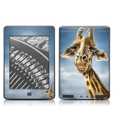 Kindle Touch Skin - Giraffe Totem