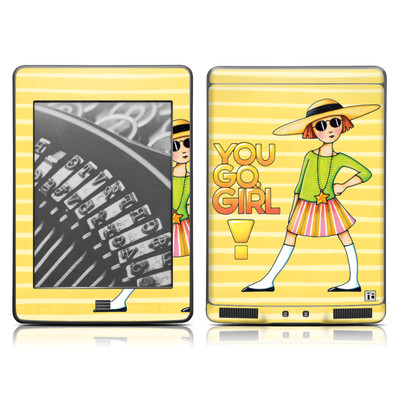 Kindle Touch Skin - You Go Girl