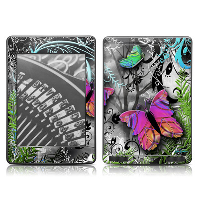 Kindle Touch Skin - Goth Forest