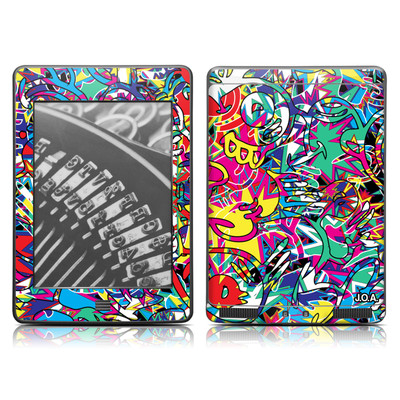 Kindle Touch Skin - Graf