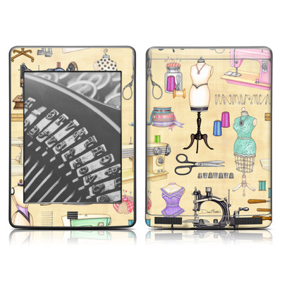 Kindle Touch Skin - Haberdashery
