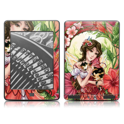 Kindle Touch Skin - Hibiscus Fairy
