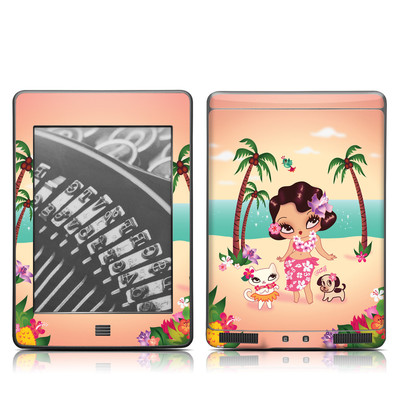 Kindle Touch Skin - Hula Lulu