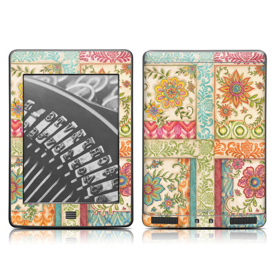 Kindle Touch Skin - Ikat Floral
