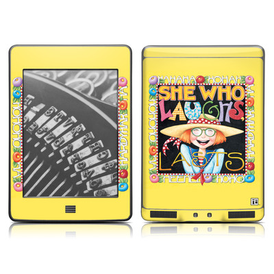 Kindle Touch Skin - She Who Laughs