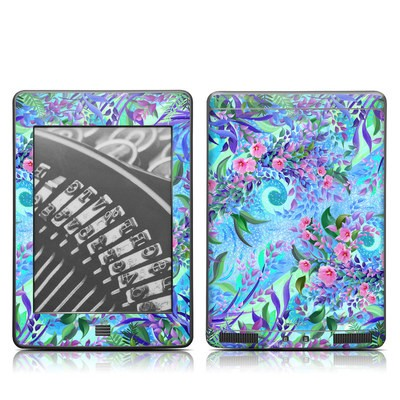 Kindle Touch Skin - Lavender Flowers