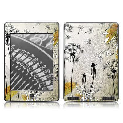 Kindle Touch Skin - Little Dandelion