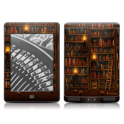 Kindle Touch Skin - Library