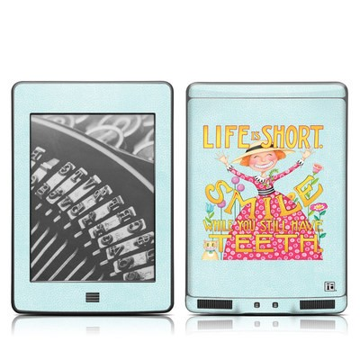 Kindle Touch Skin - Life is Short