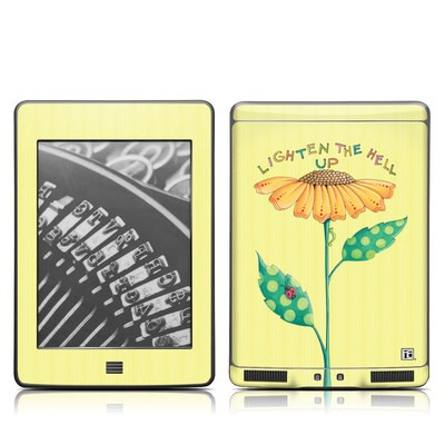 Kindle Touch Skin - Lighten Up