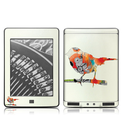 Kindle Touch Skin - Little Bird