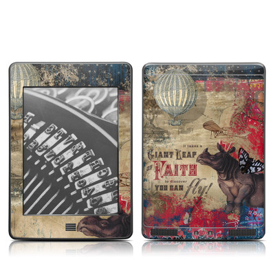 Kindle Touch Skin - Leap Of Faith