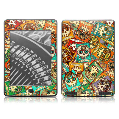 Kindle Touch Skin - Loteria Scatter