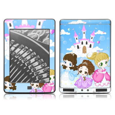 Kindle Touch Skin - Little Princesses
