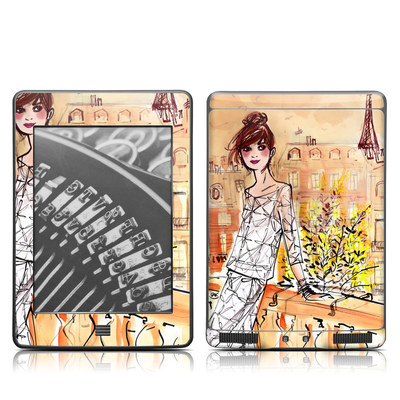 Kindle Touch Skin - Mimosa Girl