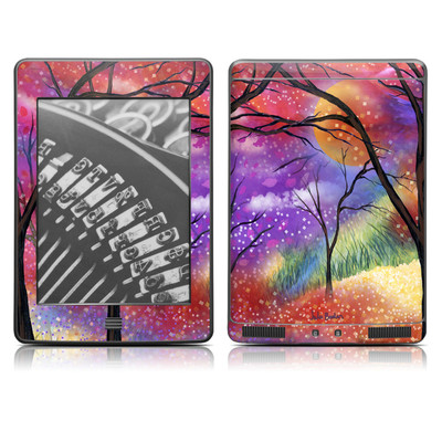 Kindle Touch Skin - Moon Meadow