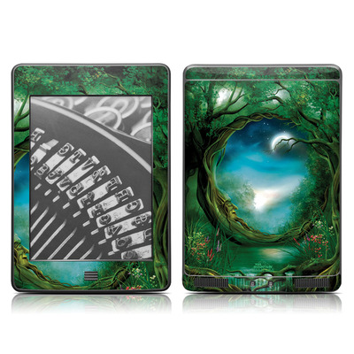 Kindle Touch Skin - Moon Tree