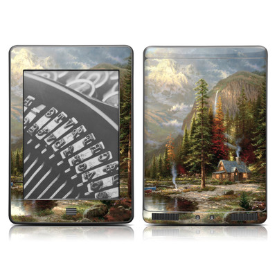 Kindle Touch Skin - Mountain Majesty