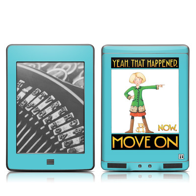 Kindle Touch Skin - Move On