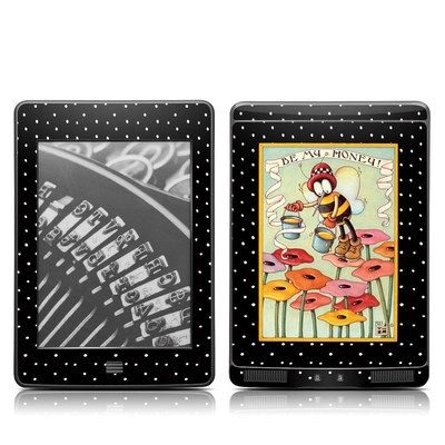 Kindle Touch Skin - Be My Honey