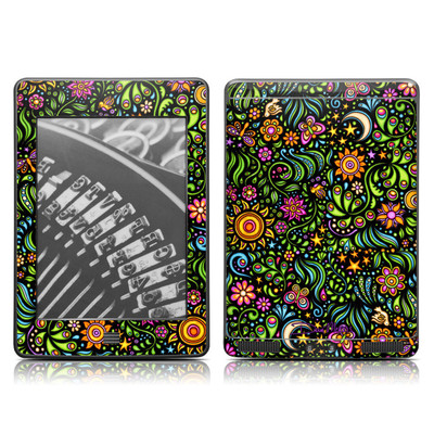 Kindle Touch Skin - Nature Ditzy