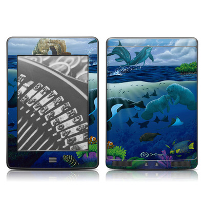 Kindle Touch Skin - Oceans For Youth